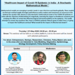 7 May 2020 - Healthcare Impact of COVID19 Webinar
